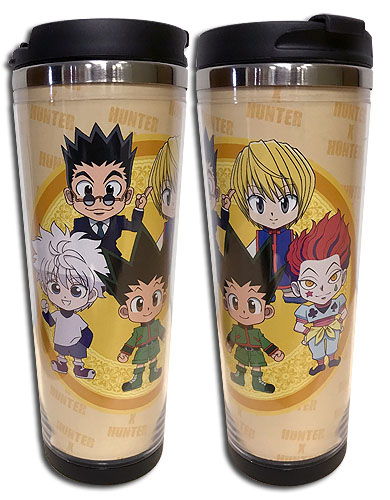Hunter X Hunter - Sd Group Tumbler officially licensed Hunter X Hunter Mugs & Tumblers product at B.A. Toys.