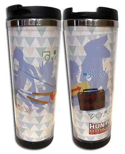 Hunter X Hunter - Group Item Tumbler, an officially licensed product in our Hunter X Hunter Mugs & Tumblers department.