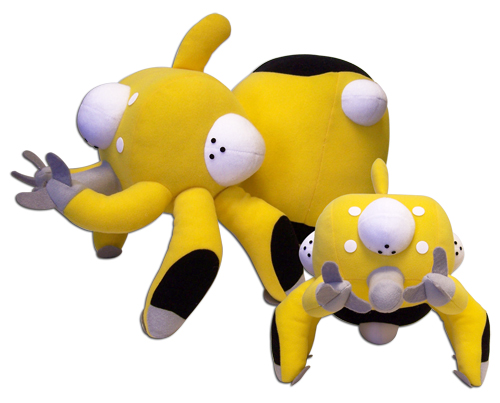 Ghost In The Shell-Sac Tachikoma Plush (Yellow), an officially licensed product in our Ghost In The Shell Plush department.