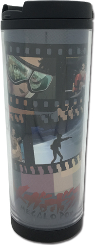 Megalobox - Screenshot Tumbler officially licensed Megalobox Mugs & Tumblers product at B.A. Toys.