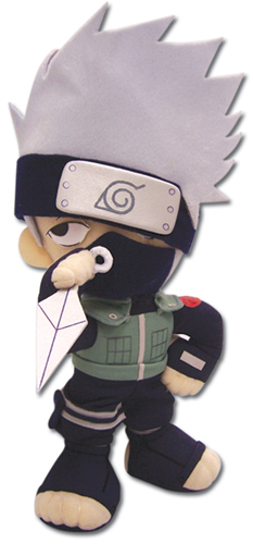 Naruto Kakashi Plush, an officially licensed product in our Naruto Plush department.