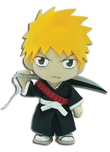 Bleach Ichigo Plush, an officially licensed product in our Bleach Plush department.
