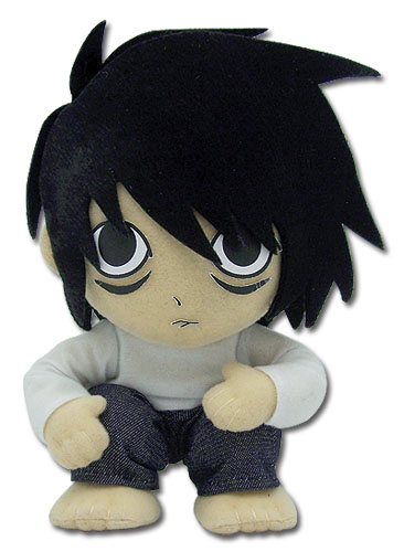 Death Note L Plush, an officially licensed product in our Death Note Plush department.
