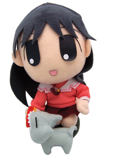 Azumanga Daioh Sakaki Feeding Plush, an officially licensed Azumanga Plush