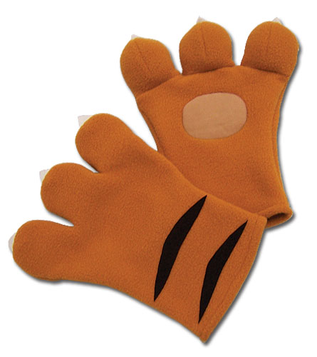 Code Geass Nina's Tiger Plush Gloves officially licensed product at B.A. Toys.
