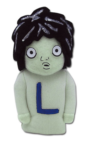 Death Note L Plush Finger Puppet, an officially licensed product in our Death Note Plush department.