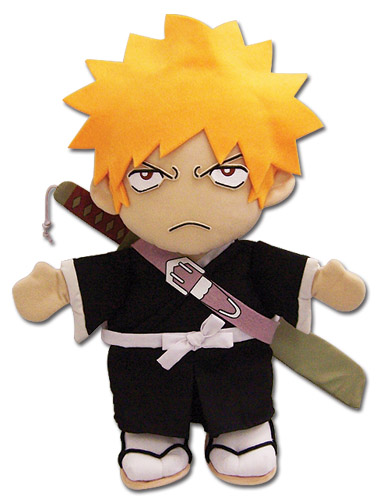Bleach Ichigo Plush Puppet, an officially licensed product in our Bleach Plush department.