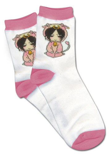 Black Butler Cow Sebastian Socks, an officially licensed product in our Black Butler Costumes & Accessories department.