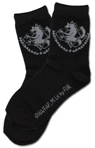 Fullmetal Alchemist Brotherhood - Amerstris Military Emblem Socks officially licensed Fullmetal Alchemist Costumes & Accessories product at B.A. Toys.
