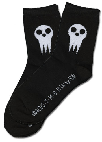 Soul Eater - Shinigami Skull Socks, an officially licensed Soul Eater Accessory