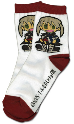 Soul Eater - Sd Maka Socks officially licensed Soul Eater Costumes & Accessories product at B.A. Toys.