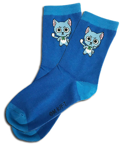 Fairy Tail - Sd Happy Knitted Socks, an officially licensed product in our Fairy Tail Costumes & Accessories department.