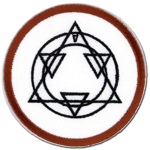 Fullmetal Alchemist Al's Alchemy Patch, an officially licensed Full Metal Alchemist Patch