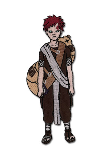 Naruto Gaara Human Form Patch, an officially licensed product in our Naruto Patches department.