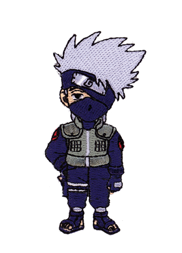 Naruto Kakashi Patch officially licensed product at B.A. Toys.