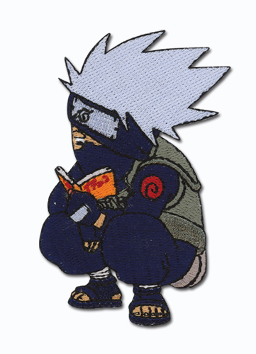 Naruto Kakashi Super Deform Patch, an officially licensed product in our Naruto Patches department.