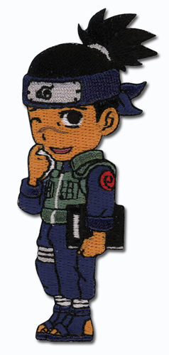Naruto Iruka Super Deform Patch, an officially licensed product in our Naruto Patches department.