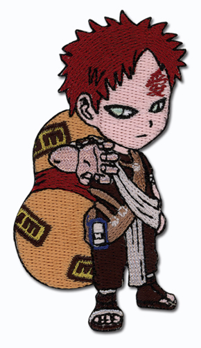 Naruto Gaara Super Deform Patch officially licensed product at B.A. Toys.