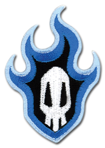 Bleach Skull Logo Patch, an officially licensed Bleach product at B.A. Toys.