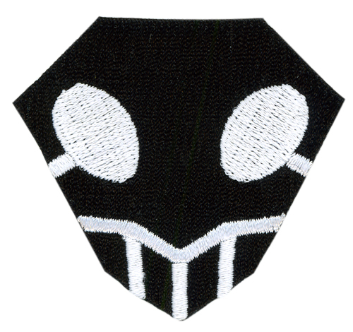 Bleach Shinigami Symbol Patch, an officially licensed Bleach product at B.A. Toys.