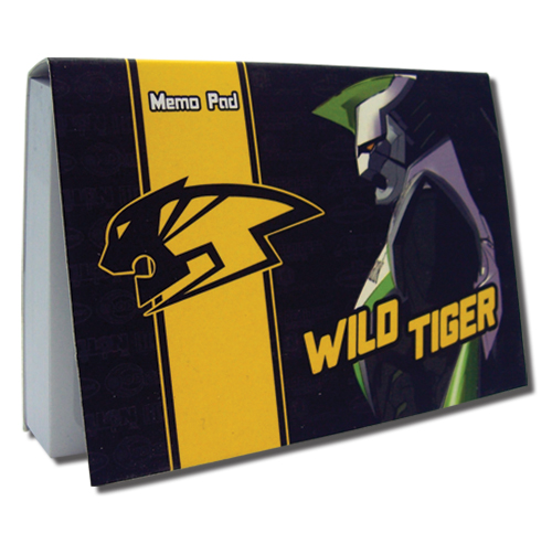 Tiger & Bunny- Wild Tiger Memo Pad officially licensed Tiger & Bunny Stationery product at B.A. Toys.
