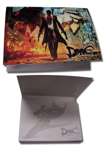Devil May Cry Dante Memo Pad, an officially licensed product in our Devil May Cry Stationery department.