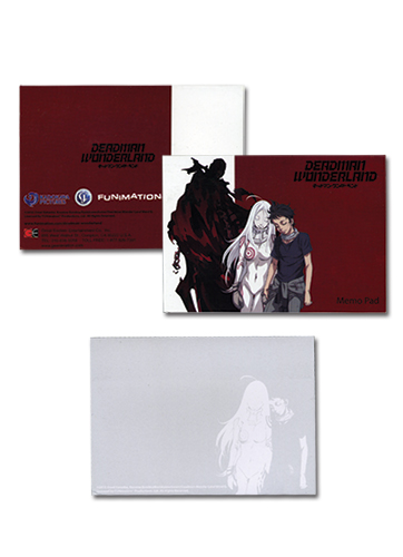Deadman Wonderland Memo Pad, an officially licensed Deadman Wonderland Stationery