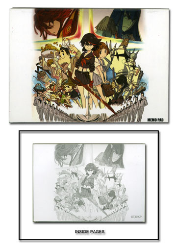 Kill La Kill - Group Memo Pad officially licensed Kill La Kill Stationery product at B.A. Toys.