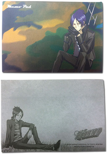 Reborn! - Muruko Camo Memo Pad officially licensed Reborn! Stationery product at B.A. Toys.