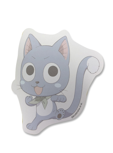 Fairy Tail - Happy Die-Cut Memo Pad, an officially licensed product in our Fairy Tail Stationery department.
