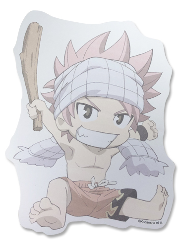 Fairy Tail - Natsu Die-Cut Memo Pad, an officially licensed product in our Fairy Tail Stationery department.
