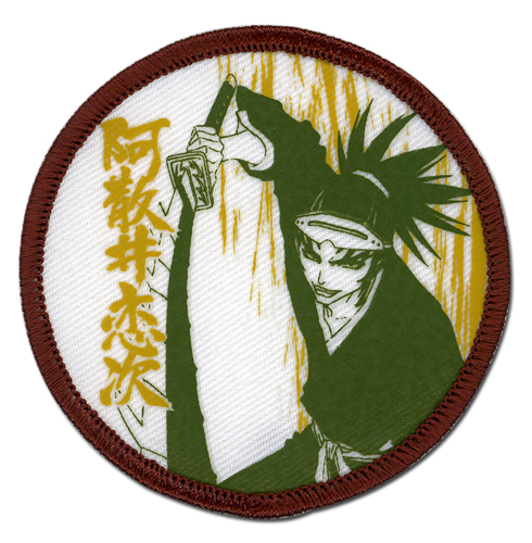 Bleach Renji Dull Color Patch, an officially licensed product in our Bleach Patches department.