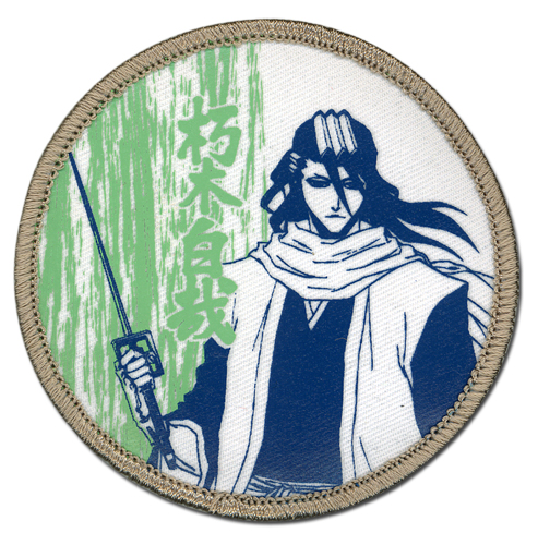 Bleach Byakuya Dull Color Patch, an officially licensed Bleach Patch