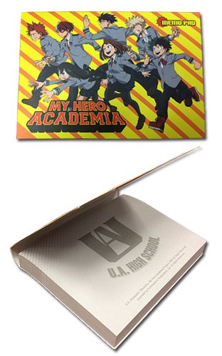 My Hero Academia - Group Memo Pad, an officially licensed product in our My Hero Academia Stationery department.