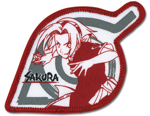 Naruto Sakura Leaf Village Patch, an officially licensed product in our Naruto Patches department.
