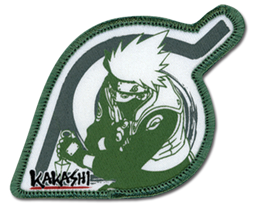 Naruto Kakashi Leaf Village Patch, an officially licensed product in our Naruto Patches department.