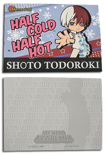 My Hero Academia - Shoto Memo Pad officially licensed My Hero Academia Stationery product at B.A. Toys.