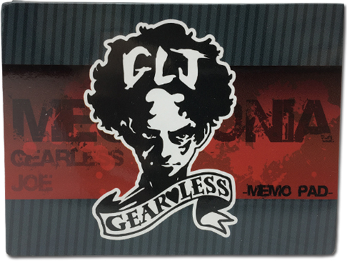 Megalobox - Tattoo Memo Pad officially licensed Megalobox Stationery product at B.A. Toys.