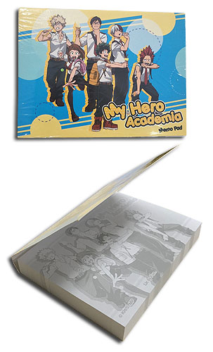 My Hero Academia - Ice Group Memo Pad officially licensed My Hero Academia Stationery product at B.A. Toys.