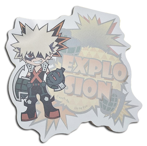 My Hero Academia - Sd Kacchan Die-Cut Memo Pad officially licensed My Hero Academia Stationery product at B.A. Toys.