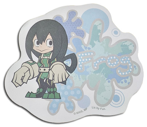 My Hero Academia - Sd Froppy Die-Cut Memo Pad officially licensed My Hero Academia Stationery product at B.A. Toys.