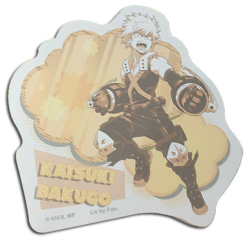My Hero Academia - Katsuki Bakugo Die-Cut Memo Pad officially licensed My Hero Academia Stationery product at B.A. Toys.