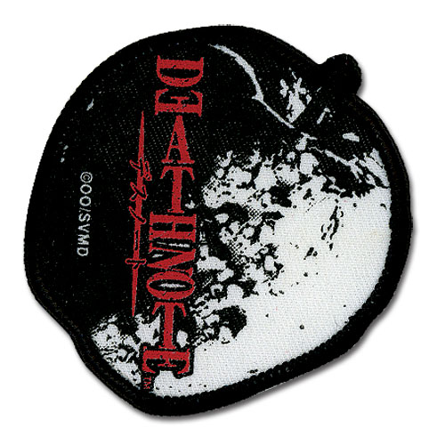 Death Note Apple Patch, an officially licensed product in our Death Note Patches department.