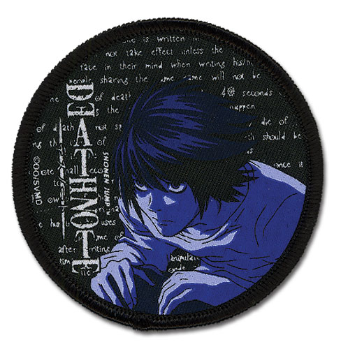 Death Note L Patch, an officially licensed product in our Death Note Patches department.