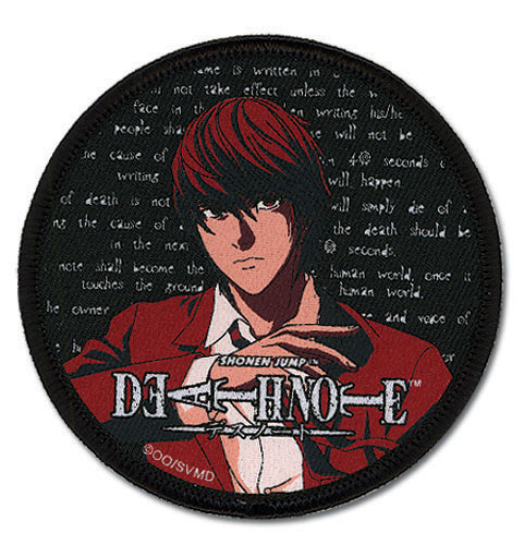 Death Note Light Patch, an officially licensed product in our Death Note Patches department.