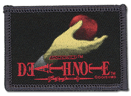 Death Note Apple In Hand Patch, an officially licensed product in our Death Note Patches department.