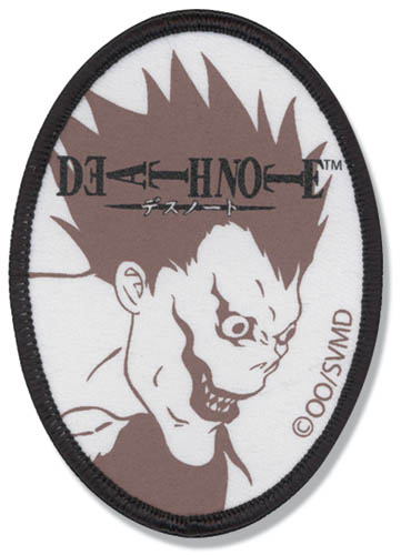 Death Note Ryuk's Patch, an officially licensed product in our Death Note Patches department.