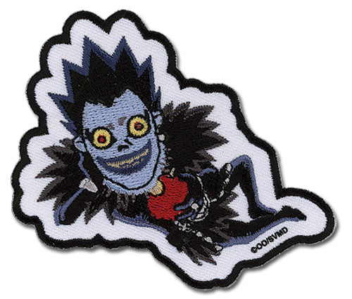 Death Note Ryuk Sd Patch, an officially licensed product in our Death Note Patches department.