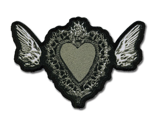 Death Note Heart Patch, an officially licensed product in our Death Note Patches department.