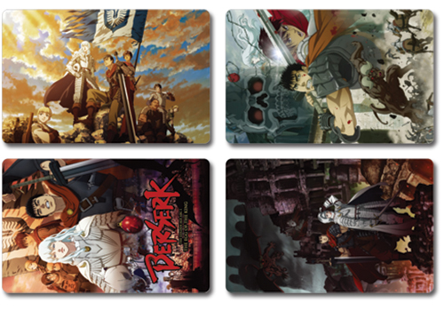 Berserk Postcards, an officially licensed Berserk product at B.A. Toys.